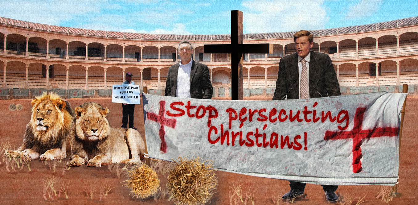 Christians in Australia are not persecuted, and it is insulting to argue they are